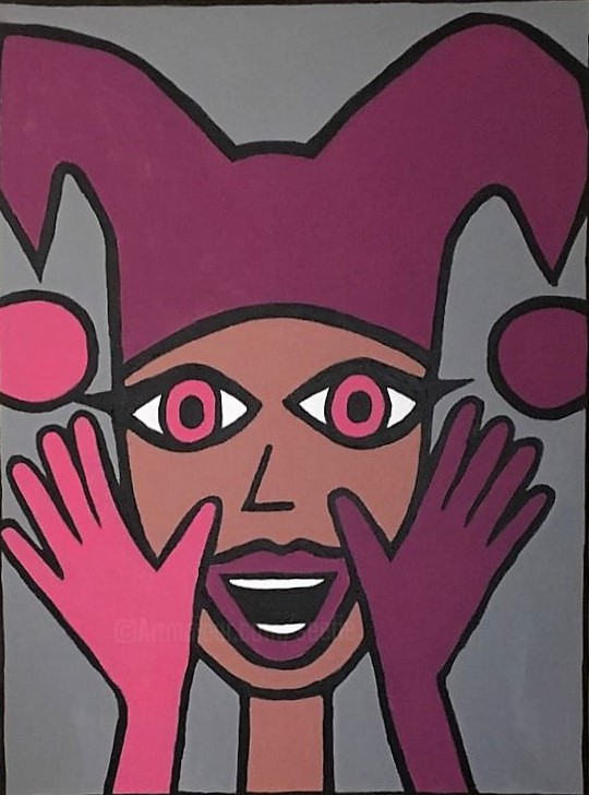Stop Joking Around 80 x 60 cm